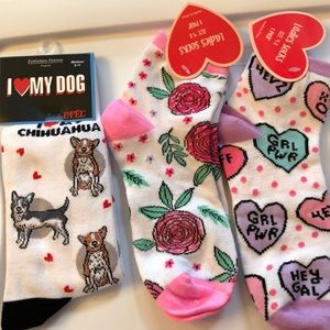 Accessories - Silly socks 3 pair - NWT
